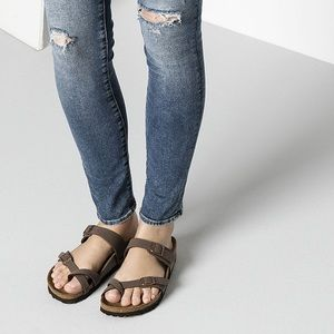 Birkenstock Mayari Mocha Classic Footbed Sandals